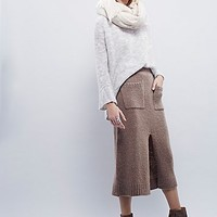 Free People Womens Cozy And Cool Swit Skirt