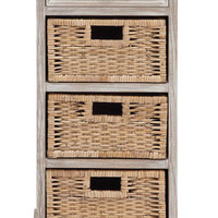 The Cool Wood 3 Basket Chest