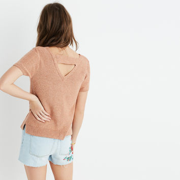 Double-V Sweater-Tee : | Madewell