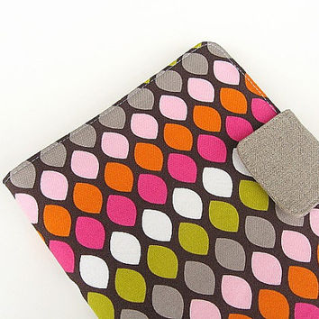 iPad Mini Cover Kindle Fire Cover Nook Simple Touch Cover Kobo Cover Case Honeycomb Pink Green Orange Gray Brown Chevron eReader
