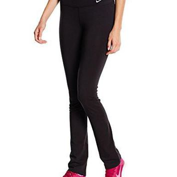Nike Womens Dri-Fit Legend Skinny Fit Training Pants-Black-Medium