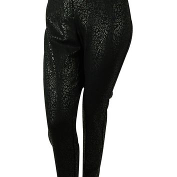 Alfani Women's Animal Print Pants