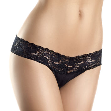 Lace V Cut, Low Rise Panties