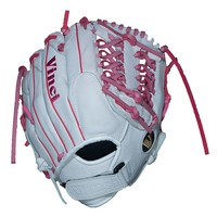 Vinci 12.5-in. Right Hand Throw Baseball Glove - Adult (White)