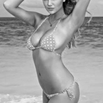 """Kate Upton Poster Black and White Poster 16""""x24"""""""