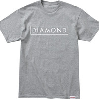 Diamond Future Tee Medium Heather/White
