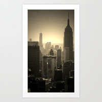 Empire State of Mind Art Print by ShellyLI