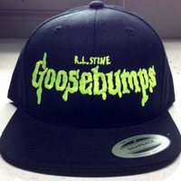 Goosebumps baseball cap ghost stories kids books