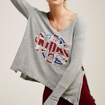 Free People The Kinks Thermal Tee
