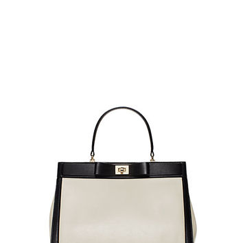 Kate Spade Mayfair Drive Luxe Tullie Canvas/Black ONE