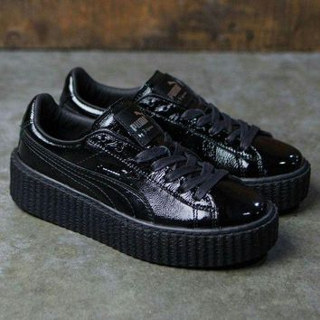 PEAPON Puma fenty creeper by Rihanna puma trainers in black Size 6