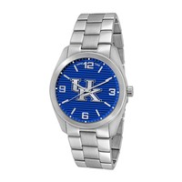 Game Time Elite Series Kentucky Wildcats Stainless Steel Watch - COL-ELI-KEN - Men (Grey)