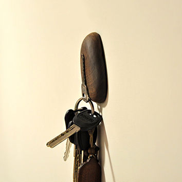 Walnut Magnet Key Holder