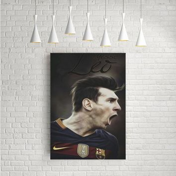 LEO MESSI EXPRESSION ARTWORK POSTERS