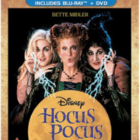 Hocus Pocus Movie DVD | 2-Set DVD Hocus Pocus CD DVD Bluray Region 1 New Release 2017 Bette Midler, Thora Birch
