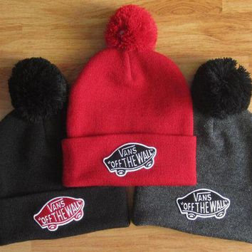 PEAPON VANS Woman Men Fashion Beanies Winter Knit Hat Cap