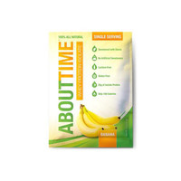 About Time Whey Protein Isolate - Banana Single Serving - 1 Oz - Case Of 12