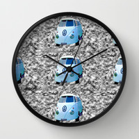VW Mind flip Wall Clock by Bruce Stanfield