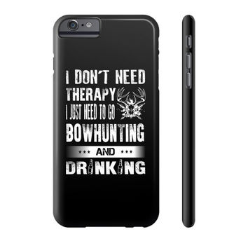 Bow hunting an drinking Phone Case