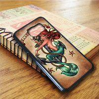 Tattooed Disney The Little Mermaid Ariel Samsung Galaxy S6 Edge Case