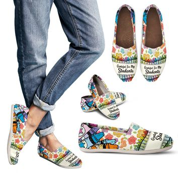 Grateful Teacher Casual Shoes
