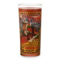 Disney Parks Attraction Poster Tall Glass Tumbler - Disneyland Railroad/Big Thunder Mountain Railroad