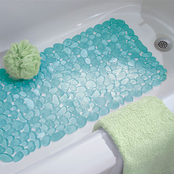 Blue Pebblz Bath Mat | Dorm Bedding and Bath | OCM.com