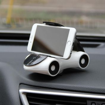 Car-Styling Car Model Auto Dashboard Decoration Ornaments Creative 360 Degree Adjustable Rotation Phone Holder Stand Accessories