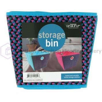 Cloth Storage Bin With Handles OF869