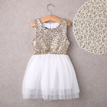 Sequins Princess Kids Dress