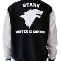 Stark unisex varsity jacket - Game of thrones