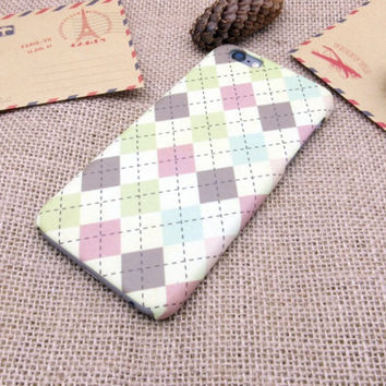Classic Checks iPhone 7 7 Plus & iPhone 6 6s Plus & iPhone 5s se Case Personal Tailor Cover + Gift Box
