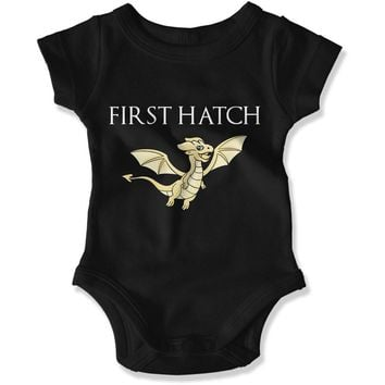 First Hatch Baby Dragon Family Matching Set- Baby Bodysuit - GOT - 05