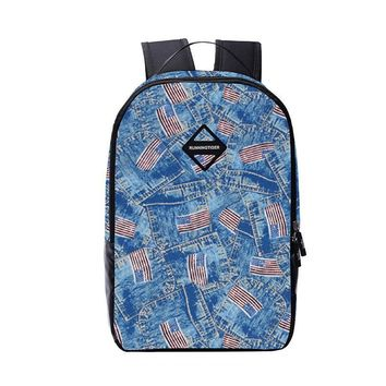 2017 men backpack male bag school bags for boys american flag travel backpack for laptop student notebook bag college bags
