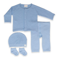 Cuddl Duds® 4-Piece Cardigan, Pant, Hat, and Socks Set