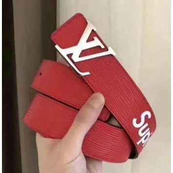 LOUIS VUITTON AAA+ SUPREME MEN AND WOMEN'S BELTS
