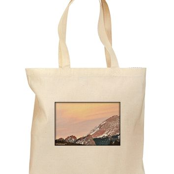 CO Sunset Cliffs Grocery Tote Bag