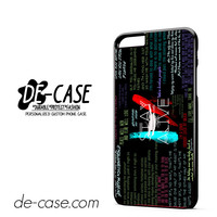 Twenty One Pilots Quote DEAL-11480 Apple Phonecase Cover For Iphone 6/ 6S Plus