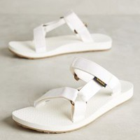 Teva Universal Slides in White Size: