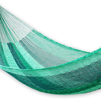 Classic Single Aqua Hammock, Green, Outdoor Hammocks