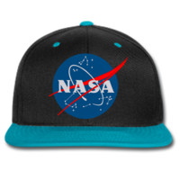 NASA logo beanie or SNAPBACK hat