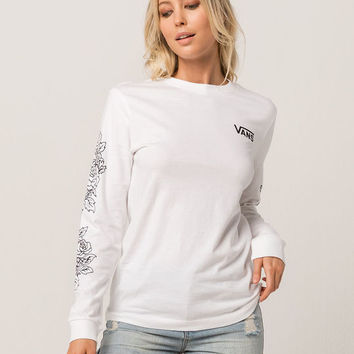 VANS Rose Thorns Womens Tee