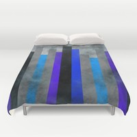 Fog In The City Duvet Cover by Kathleen Sartoris