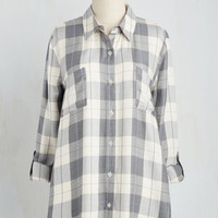 Vintage Inspired Mid-length 3 Crew Collab Top