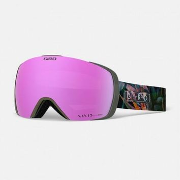 Giro - Contact Electric Petal Snow Goggles / Vivid Pink + Vivid Infrared Lenses