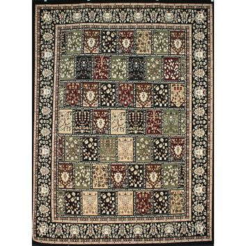 0571 Black Oriental Area Rugs