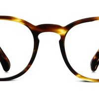 Percey Eyeglasses in Striped Sassafras for Women | Warby Parker
