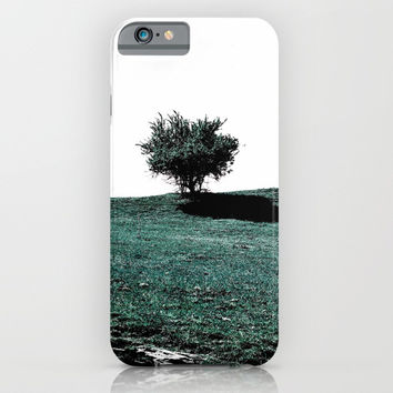 Tree On Hill iPhone & iPod Case by ARTbyJWP