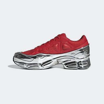Red & Silver adidas Originals Edition Ozweego Sneakers