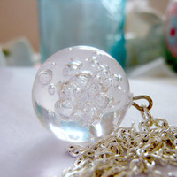 Effervescent Bubble Necklace